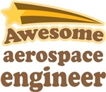 Awesome Aerospace Engineer T-shirts