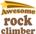 Awesome Rock Climber T-shirts