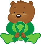 Custom Green Awareness Bear T-shirt Gifts
