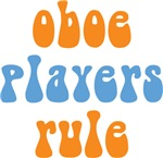 Funny Oboe Players Rule T-shirts and Gifts