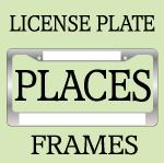 FUN U.S. STATES LICENSE PLATE FRAMES