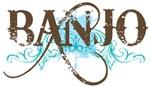 Banjo grunge T-shirts