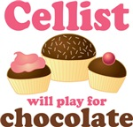Cello Chocolate Gifts for Cellists