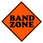 Marching Band Zone T-shirts
