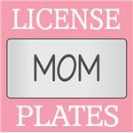 MOM LICENSE FRAMES | MOM VANITY PLATES