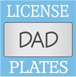 DAD LICENSE PLATE FRAMES