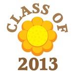 Sunflower CLASS OF 2013 T-SHIRTS