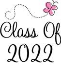 Pink Grad Class Of 2022