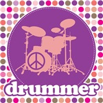 Mod Music Drummer T-Shirts Apparel