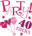Party 40th Birthday T-shirts