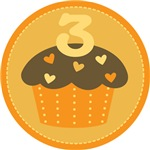3rd Birthday Cupcake T-shirts And Gifts