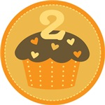 2nd Birthday Cupcake T-shirts And Gifts