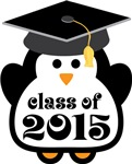 Penguin Class Of 2015 T-shirts and Graduation Gift