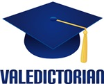 Blue Grad Hat Valedictorian T-shirts And Gifts
