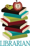 Book Stack Librarian T-shirts and Gifts