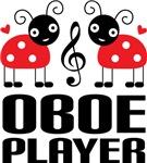 Cute Ladybug Oboe T-shirts