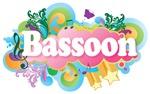 Beautiful Retro Bassoon TShirt Gifts