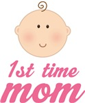 Baby 1st Time Mom T-shirt Gifts