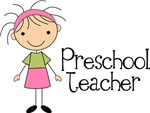Preschool Teacher Stick Figure