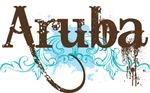 Aruba Grunge T-shirts
