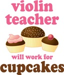 Funny Violin Teacher T-shirts and Gifts