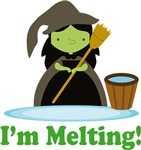 Oz Wicked Witch Melting T-shirts and Fan Gifts
