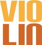 VIOLIN Orchestra Bold T-shirts