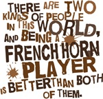 Funny French Horn Player T-shirts and Gifts
