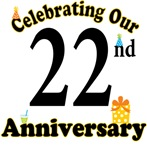 22nd Anniversary Party Gift T-shirts