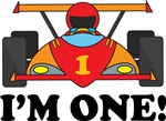 1st Birthday Race Car I'm One T-shirts