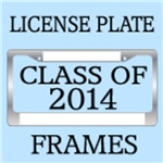 CLASS OF 2014 LICENSE PLATE FRAMES