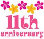 11th Anniversary Gift Hawaiian Themed