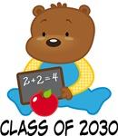 Class Of 2030 Scholar Bear Graduation Gifts