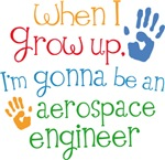 Future Aerospace Engineer Kids T-shirts