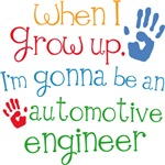 Future Automotive Engineer Kids T-shirts