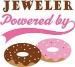 Jeweler Powered By Doughnuts Gift T-shirts