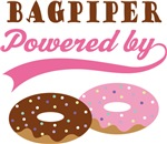 BAGPIPER POWERED BY DONUTS T-shirts