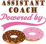 Assistant Coach Powered By Doughnuts Gift T-shirts