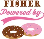 Fisher Powered By Donuts Gift T-shirts