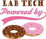 Lab Tech Powered By Donuts Gift T-shirts