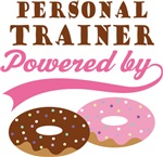 Personal Trainer Powered By Donuts Gift T-shirts