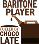 Baritone Player Fueled By Chocolate Gifts