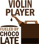 Violin Player Fueled By Chocolate Gifts