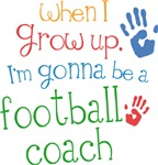 Future Football Coach Kids T-shirts