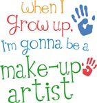 Future Make-up Artist Kids T-shirts