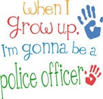 Future Police Officer Kids T-shirts