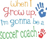 Future Soccer Coach Kids T-shirts