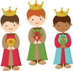Three Wise Men Kids Christmas Tees and Gifts
