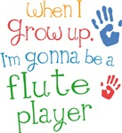 Flute Player Baby Tshirts and Blankets