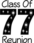 Class Of 1977 Reunion Tee Shirts